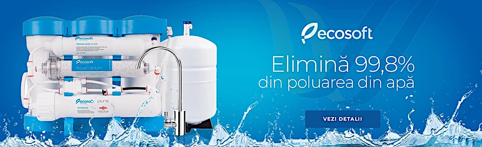 Purificator cu osmoza inversa Ecosoft PURE AquaCalcium