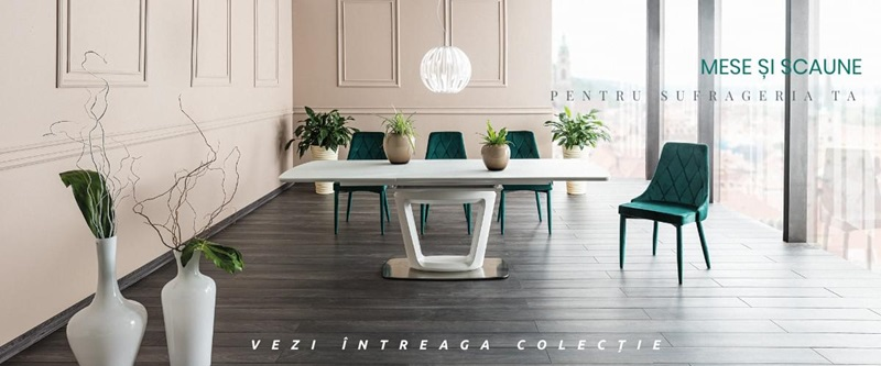 Mese si scaune pentru sufrageria ta