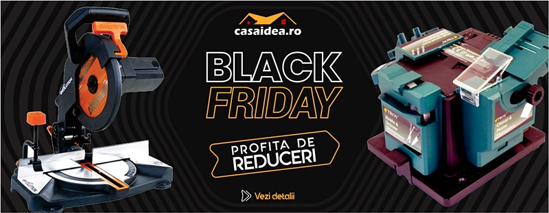 Profita de reduceri - Black Friday