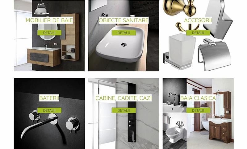 Obiecte sanitare si mobilier de baie modern durabil