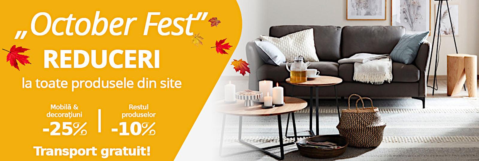 October Fest mobila decoratiuni de nepretuit