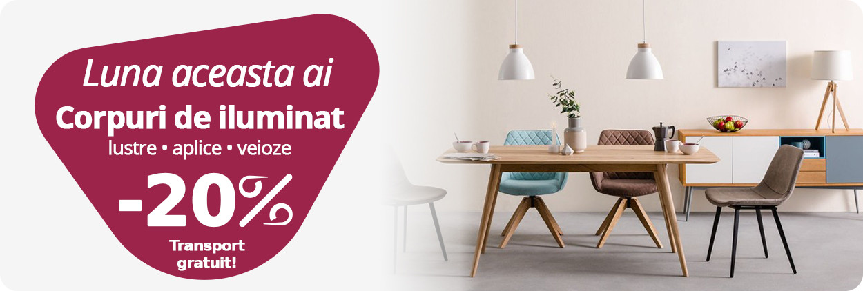 Mobilier si electrocasnice remarcabil