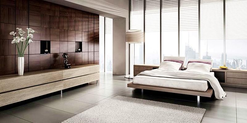 Dormitor minimalist Poza