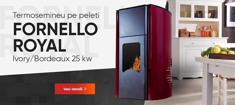 Fornello Royal 25 kw Poza