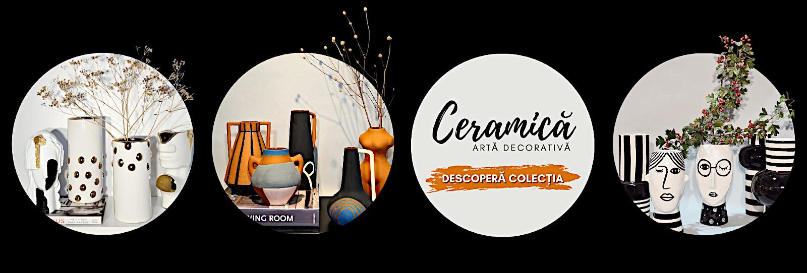 Arta decorativa ceramica consolidat
