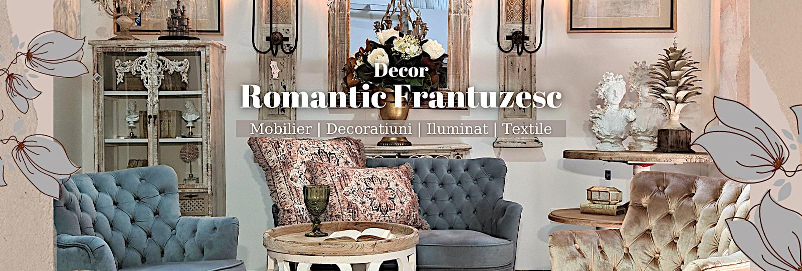 Decor romantic frantuzesc de calitate