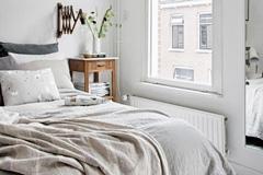 Idei de dormitoare in stil scandinav