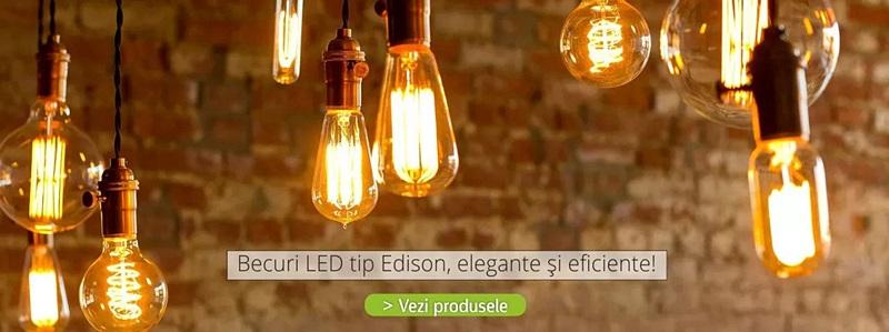 Becuri LED Edison Poza