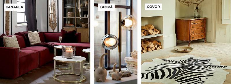 Canapele Lampi Covoare Poza