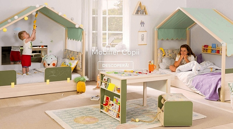 Mobilier copii consolidat